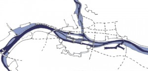 Überschwemmungsgebiet Entwurf
