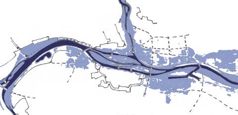 Überschwemmungsgebiet Bestehende Situation