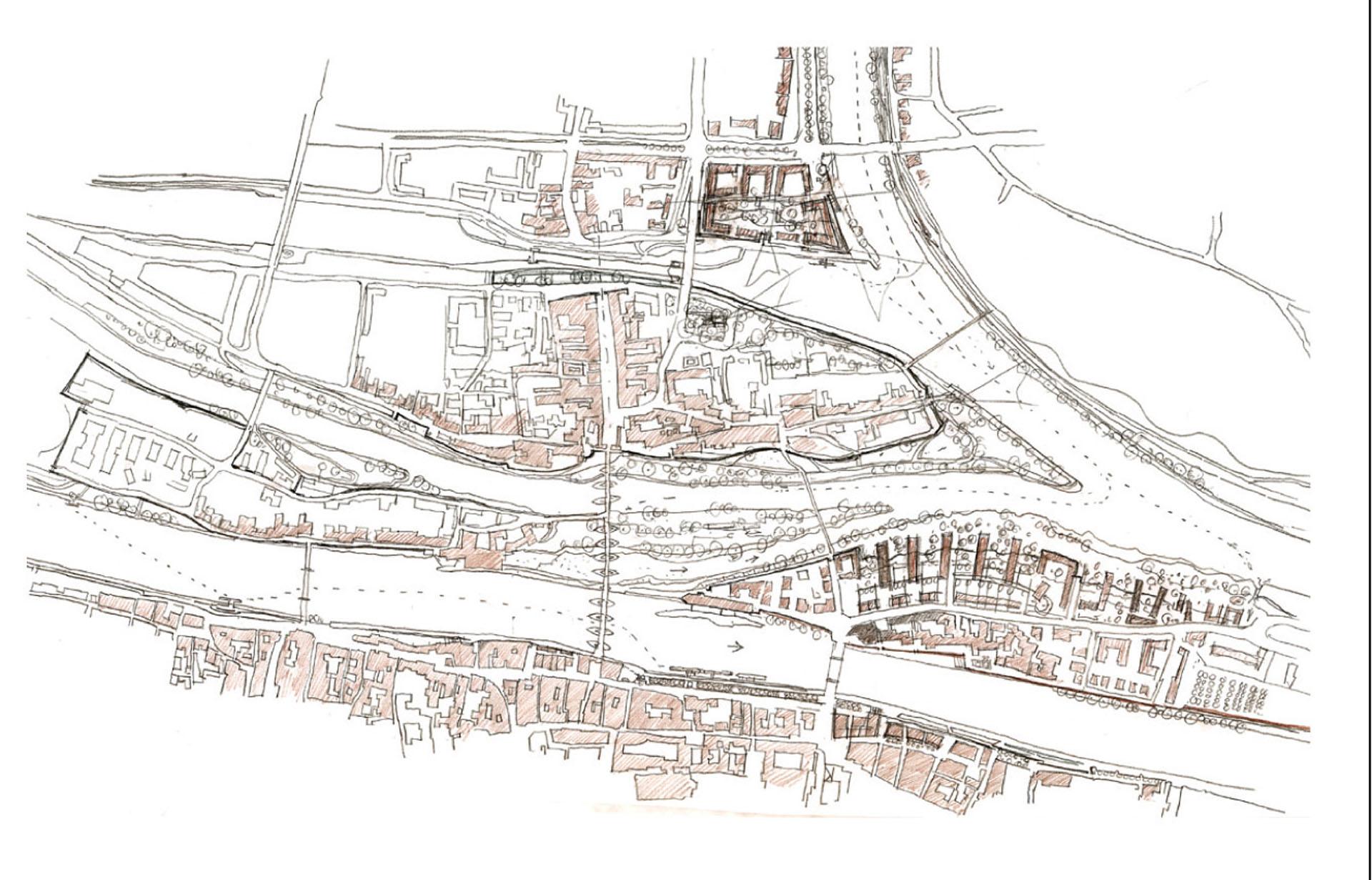 HWS Regensburg Skizze