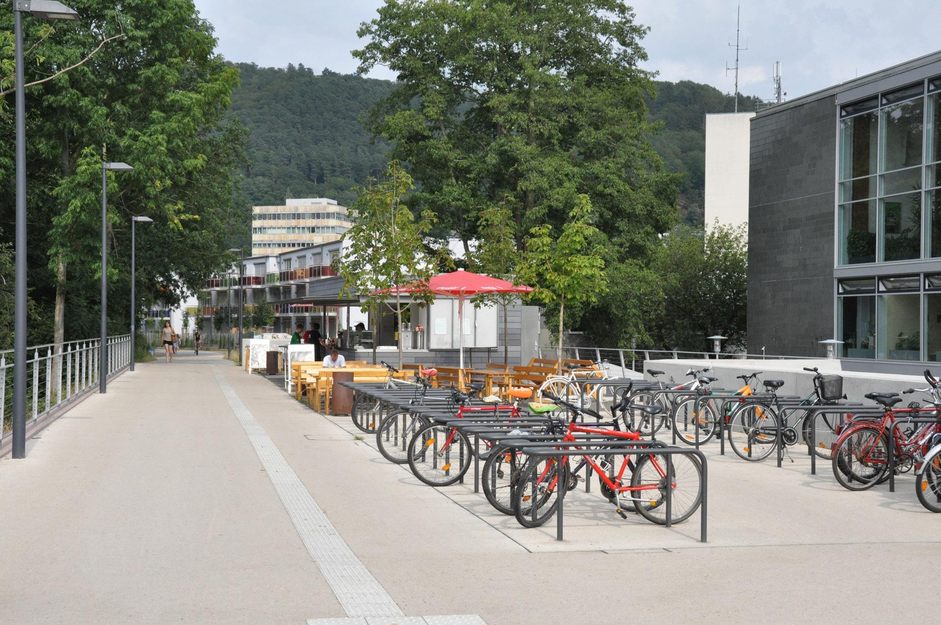 Marburg Mensaterrasse