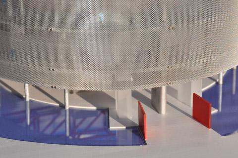 Gelsenkirchen Pumpwerk Modellfoto