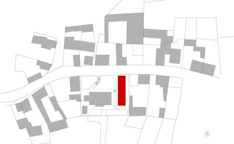 Ev. Gemeindehaus Dolgesheim Schwarzplan