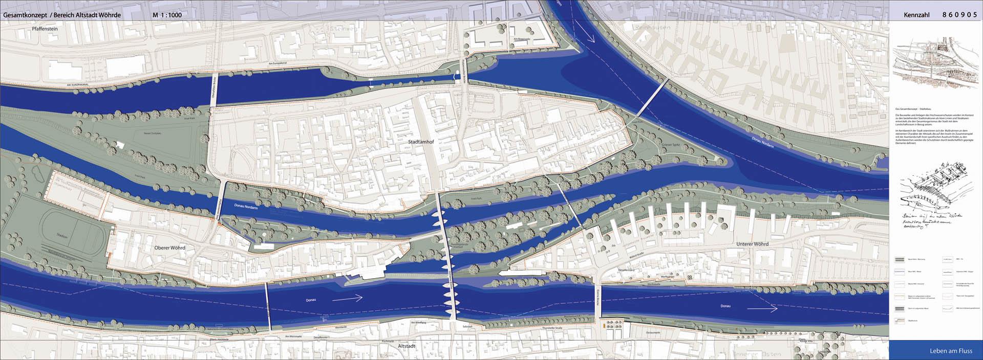 HWS Regensburg Lageplan