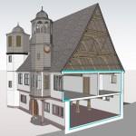 Stadtprozelten Sanierung Altes Rathaus - Visualisierung