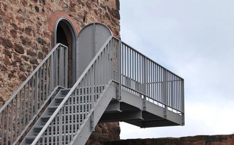 Tannenturm Außentreppe
